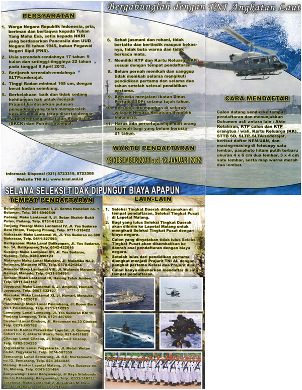 TNI+AL+Recruitment RECRUITMENT TNI ANGKATAN LAUT 2012