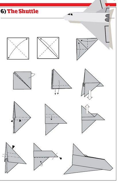 Preferência Help!: Como Fazer um Avião de Papel CC41