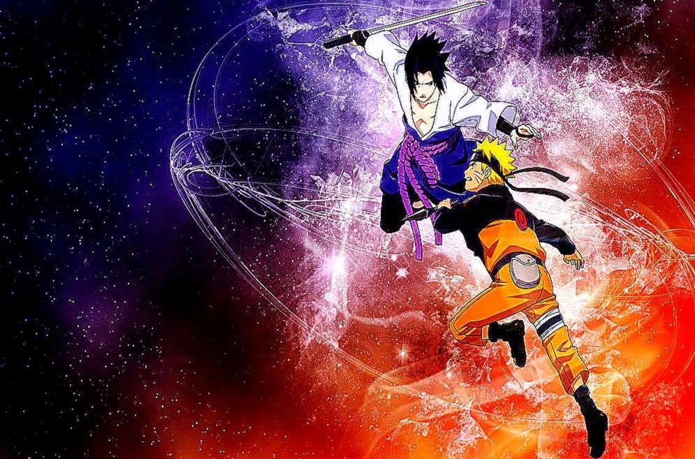 Naruto and Sasuke Desktop picture wallpaper (995 x 657 )