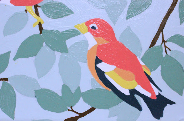 Thrift Store Painting Makeover
