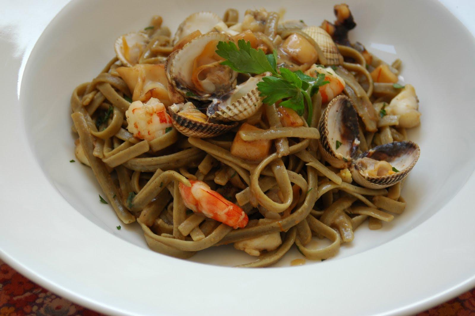 Diet In: Spaghetti frutti di mare