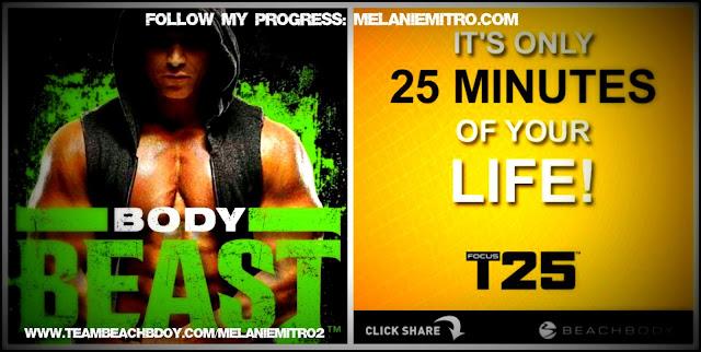 Body Beast/T25 Womens Update