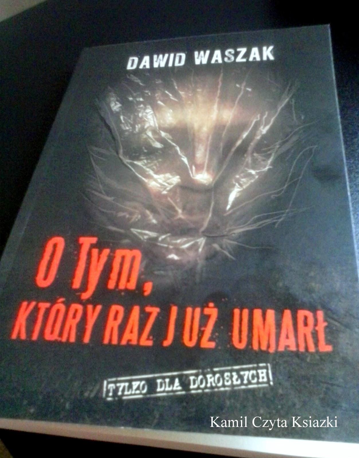 Kamil Czyta Książki Dawid Waszak O Tym który raz już umarł recenzja Grzegorz Marcin Narodziny Zła Steve