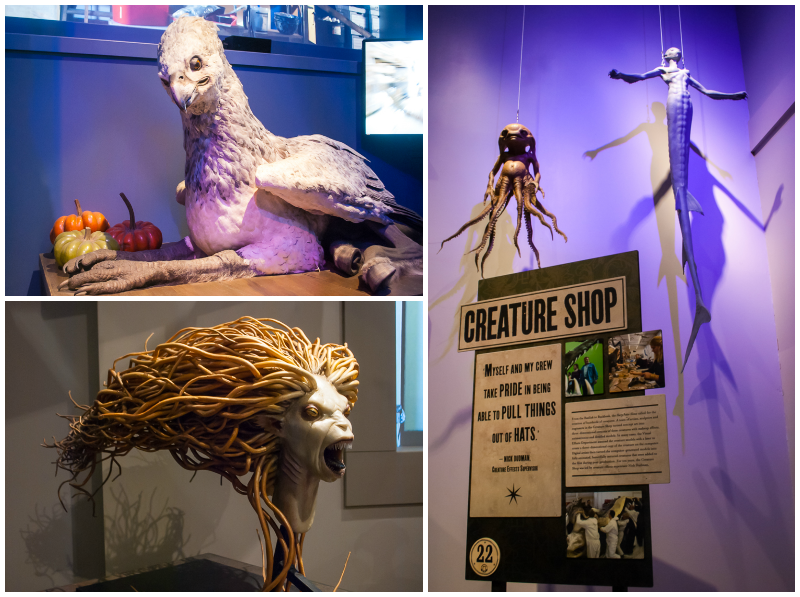 How they made harry potter creatures come to live