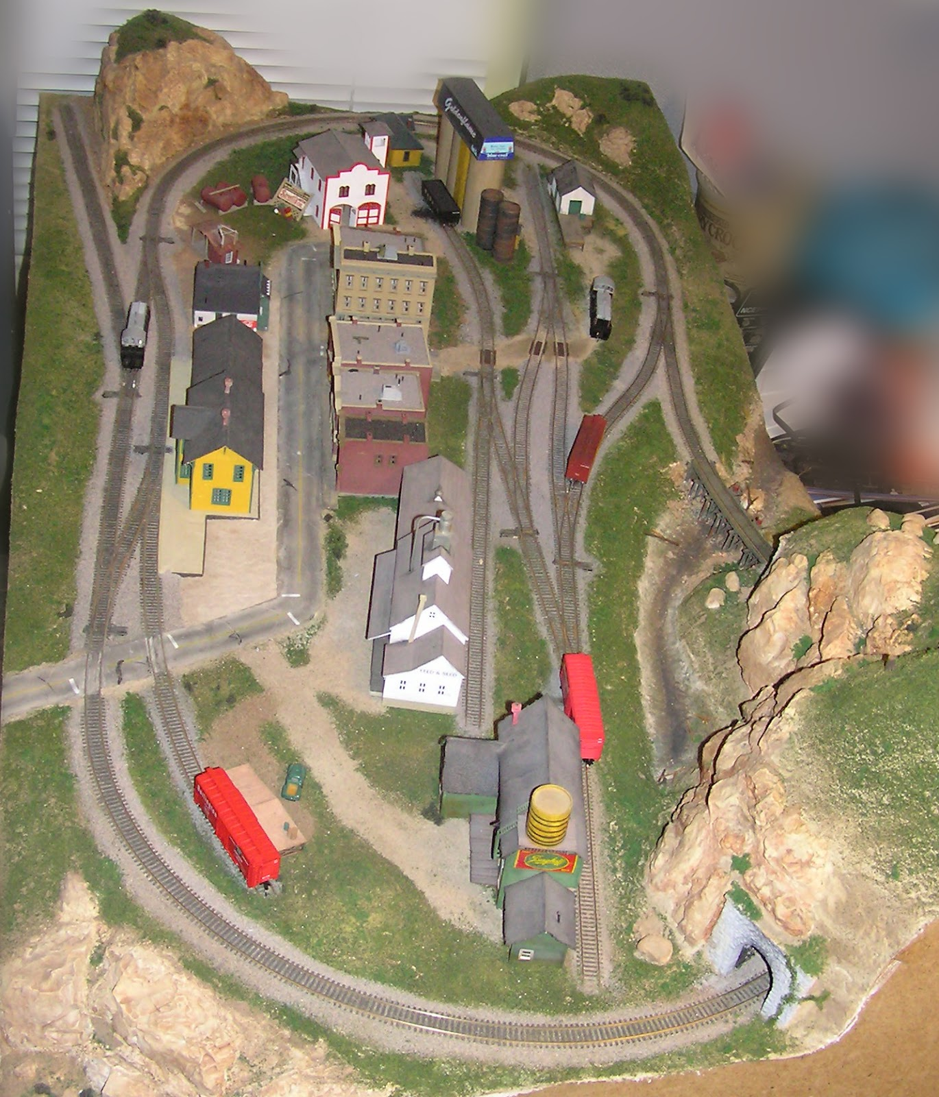 N X N Scale Layout