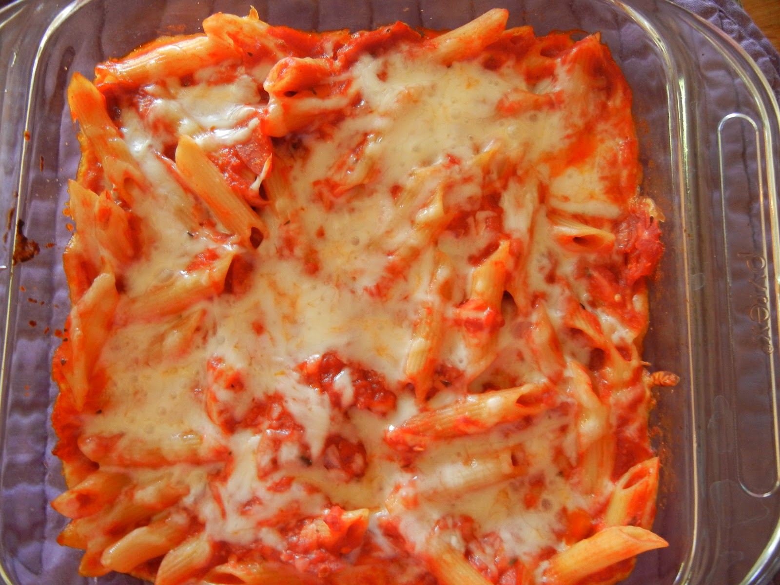 pepperoni pasta bake pasta bakes are a favorite of mine and my family ...
