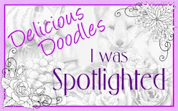 I Was Spotlighted - Delicious Doodles