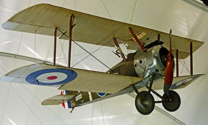 Sopwith Camel, RAF Museum, Hendon, Biggles