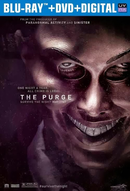 The Purge 2013 Hindi Dubbed Dual Audio BRRip 300MB ESub