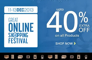 Great Online Shopping Festival @ Indiatimes: Enjoy upto Flat 40% Extra Off on All Products