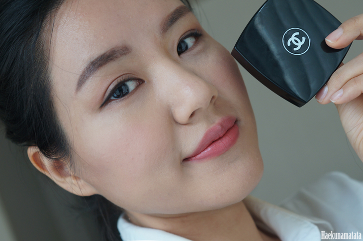 Chanel Sunkiss Ribbon Blush FOTD