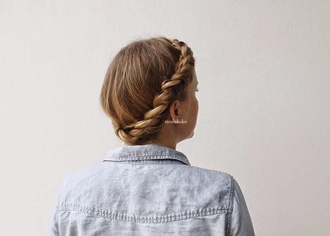 2015 En Trend Örgülü Saç Modelleri
