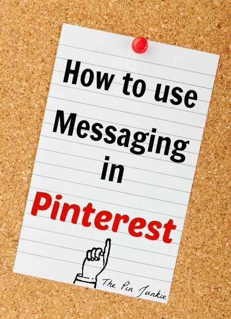 how-to-send-messages in Pinterest