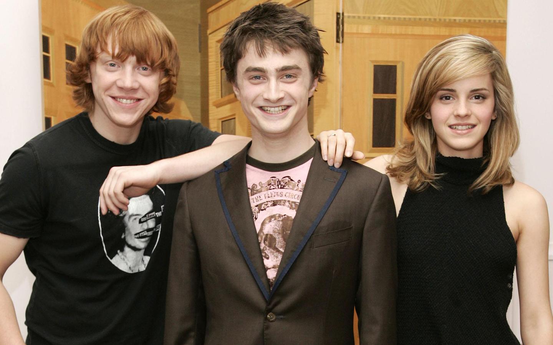 Daniel Radcliffe And Rupert Grint EMMA WATSON ~ H...