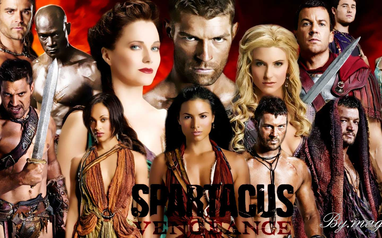 spartacus cast - cafenews