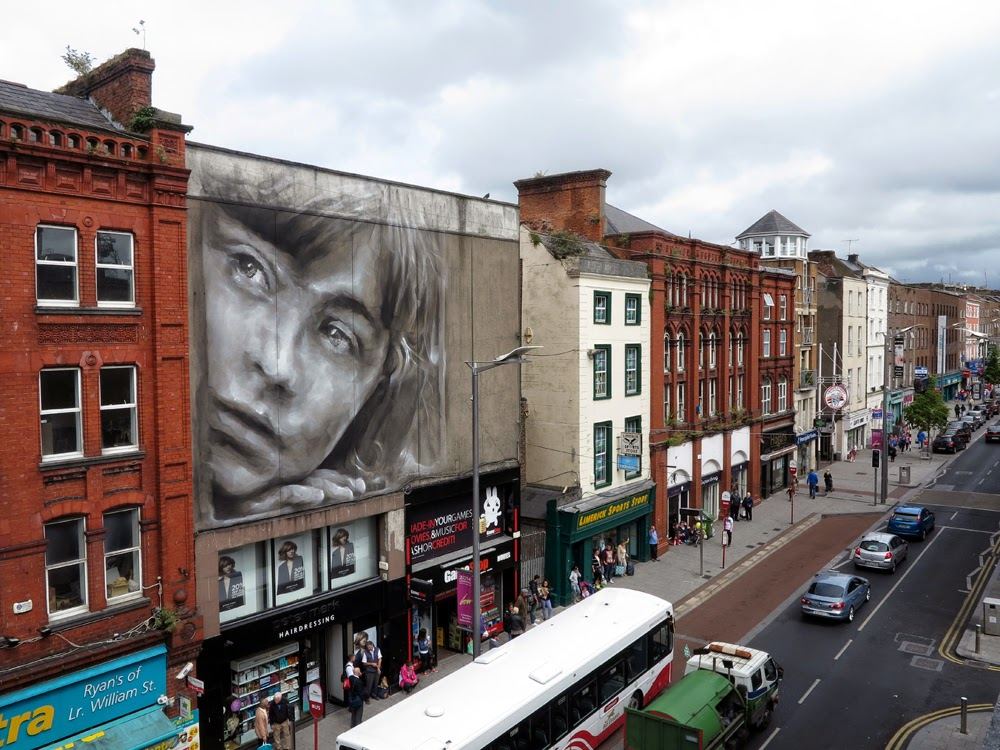 Guido van helten new mural limerick city ireland for Call for mural artists 2014