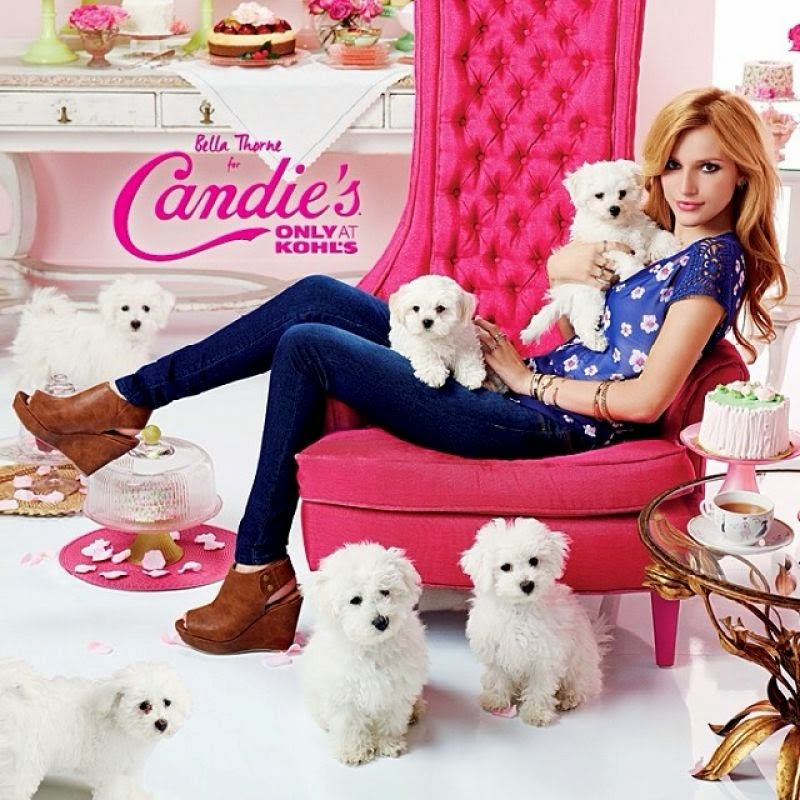 Bella Thorne for Candie's at Kohl's Fall 2014 Campaign