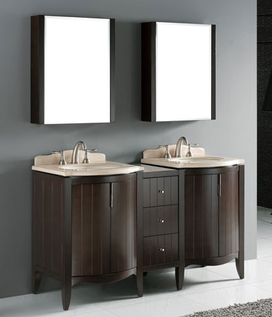 Bathroom on Discount Bathroom Vanities  Double Sink Vanities