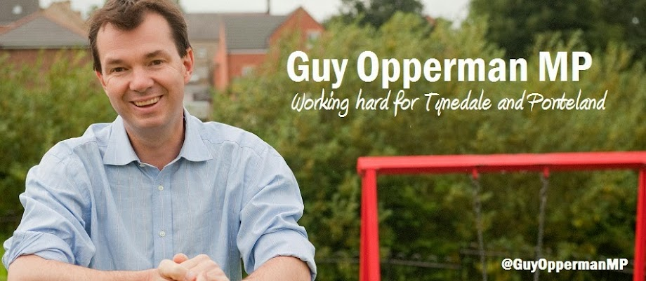 Guy Opperman -  MP for Hexham