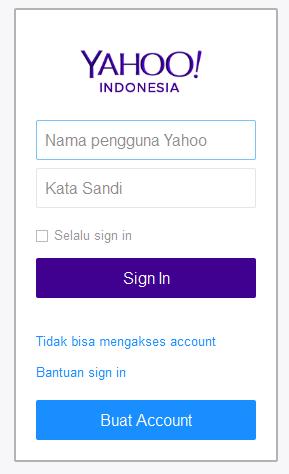 cara buat email di yahoo