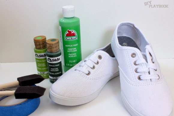 painted shoe supplies