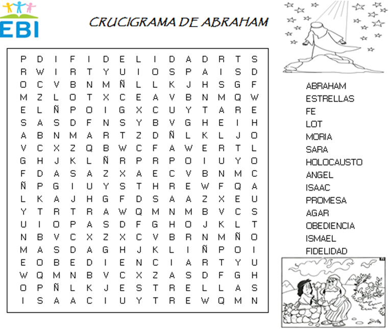 Crucigrama de Abraham ~ EBI México