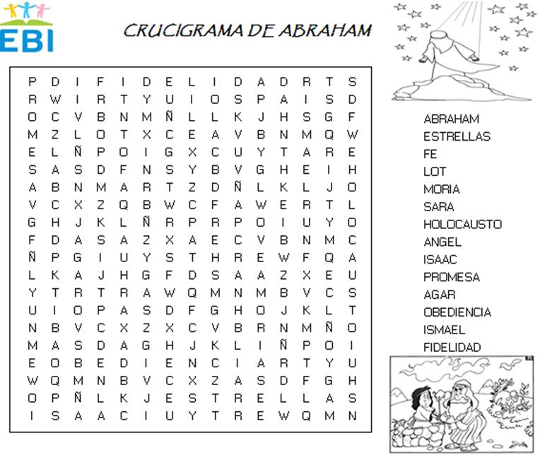 Crucigrama de Abraham ~ EBI Mexico