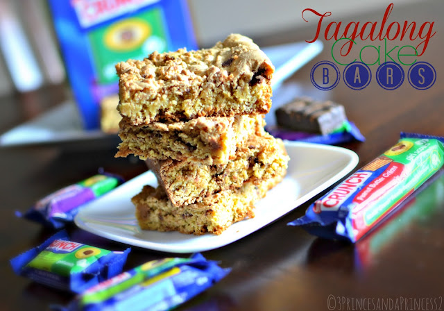 Tagalong Inspired Cake Bars #GSCrunch #Shop