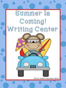 http://www.teacherspayteachers.com/Product/Summer-Is-Coming-Writing-Center-for-Common-Core-687720