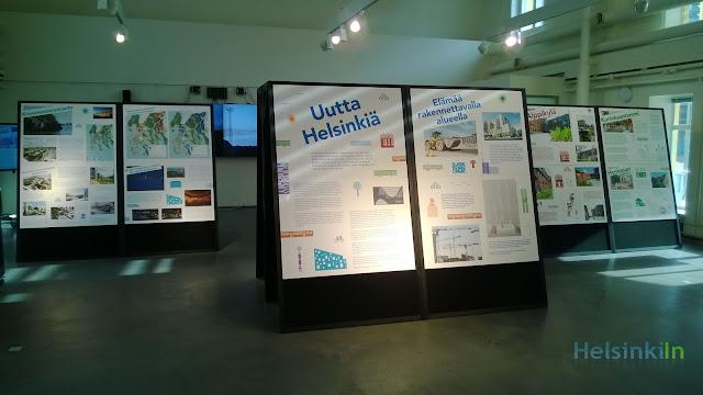 Uutta Helsinki exhibition at Laituri