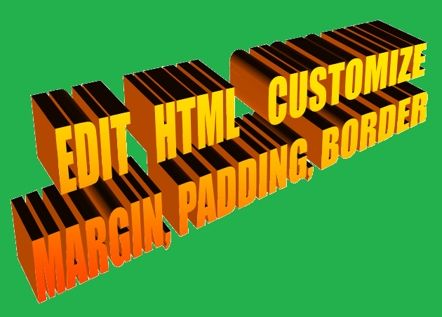 HTML Editing-HTML Codes, HTML Tags to make your Blog attractive