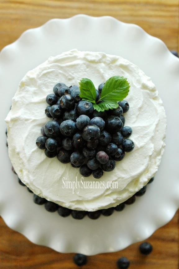 bbueberry cake