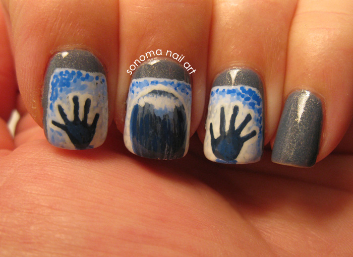 Sonoma Nail Art Halloween Challenge Horror Movies