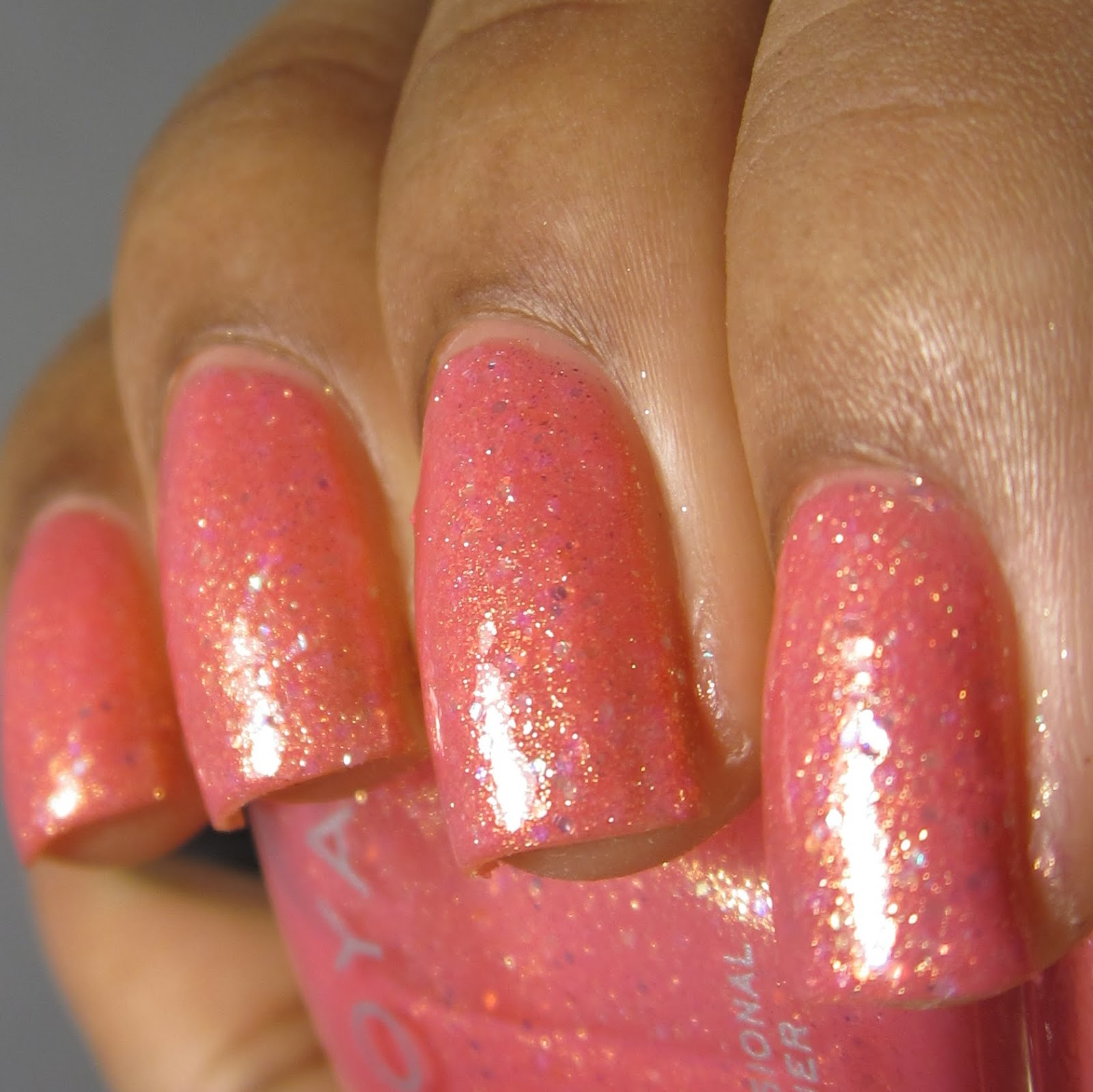 Zoya Harper Bubbly Collection pink nail polish swatch