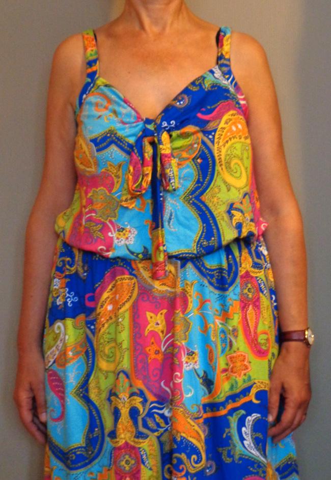 Pumps and Needles: Mom's tie dress - knipmode pattern