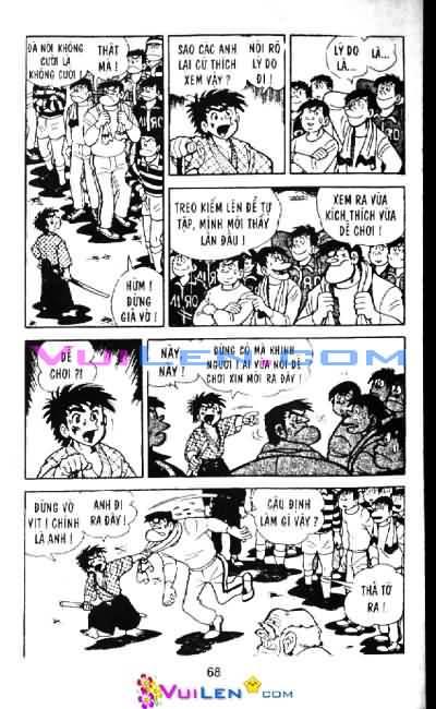 Siêu quậy Teppi chap 6 - Trang 69