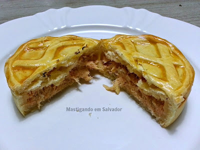 Gastronomia by Ana: Mini Torta de Frango