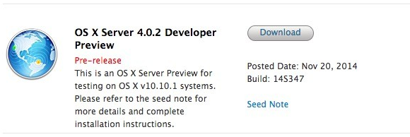 Mac OS X Server 4.0.2 Developer Preview 1 (14S347)