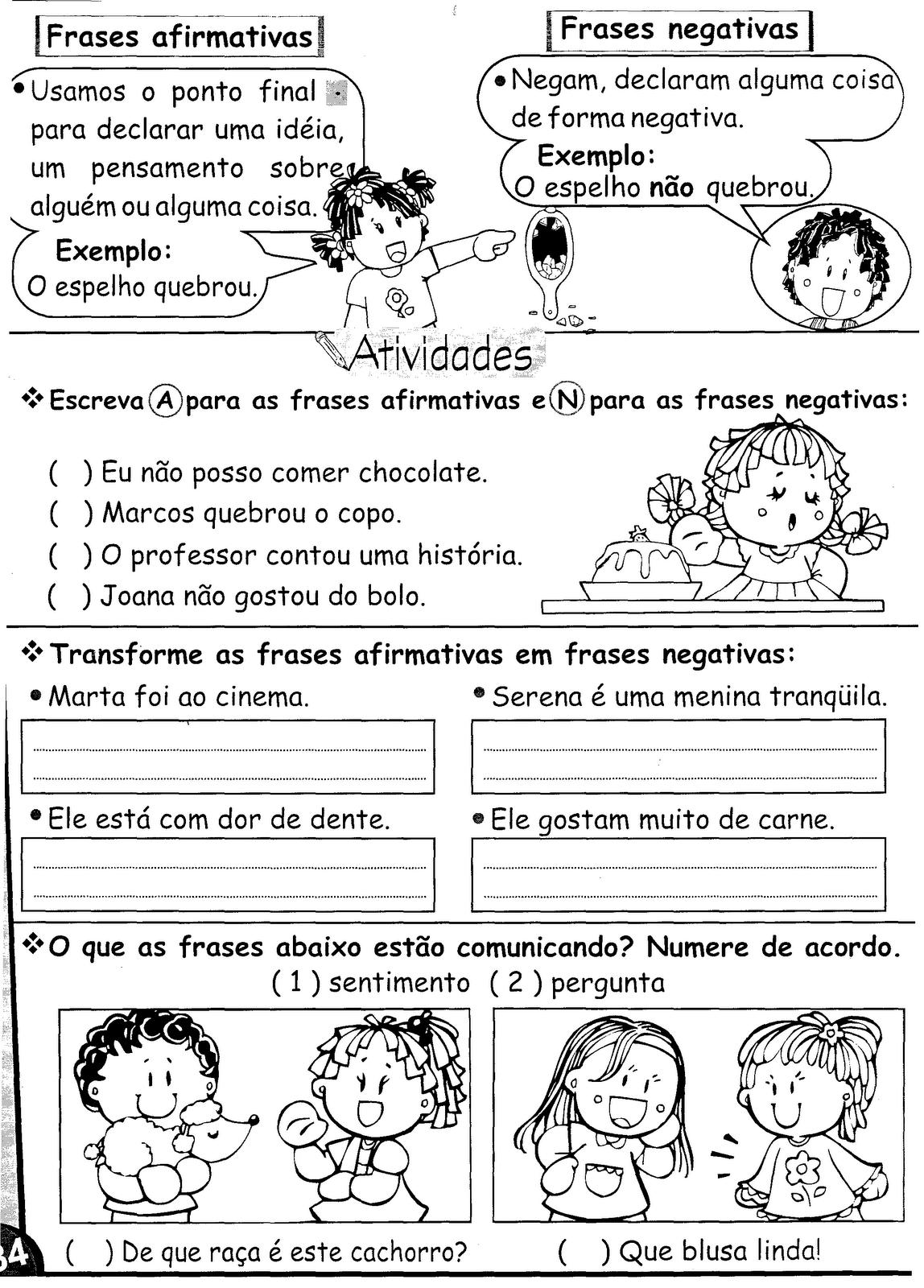 Portugu  S Tipos De Frases