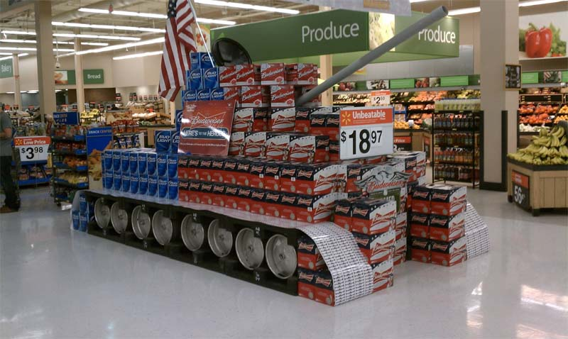Mighty Lists 9 Creative Grocery Store Displays