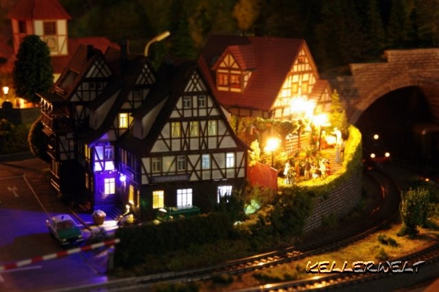 Modellbahn Beleuchtung | Kellerwelt Meine Kleine H0 Modellbahn Beleuchtung
