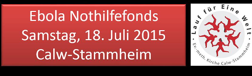 Lauf fuer eine Welt 18.7.2015