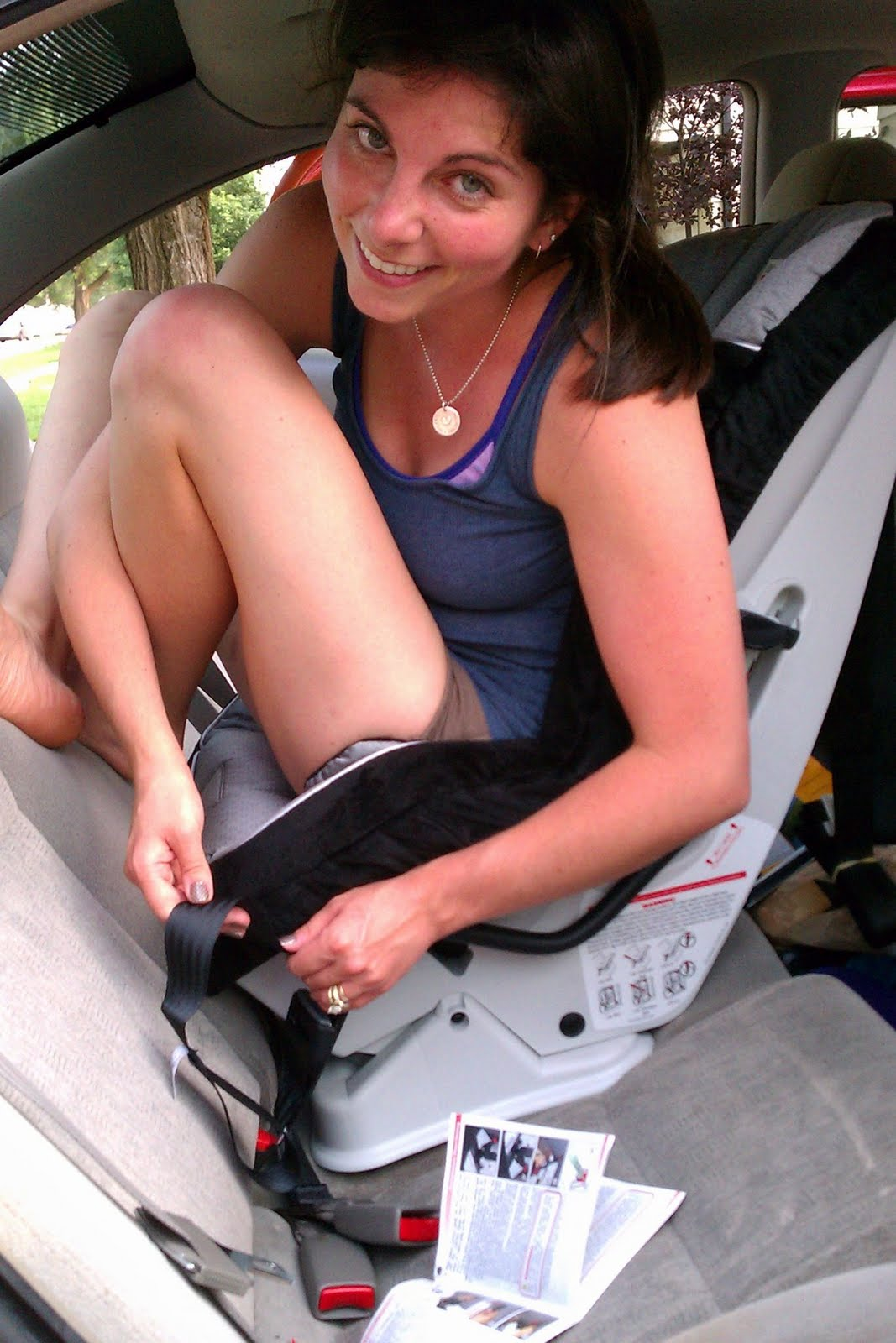 loving the little things adult car seat