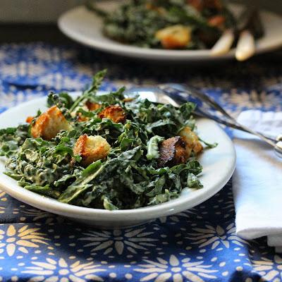 Jean George Vongerichten Kale Salad (Caesar Kale)