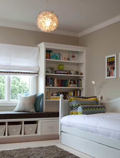Maximize Bedroom Space Interesting With Window Seat Storage Kids Rooms Pictures