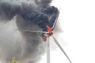 Ventoinha eolica a poluir