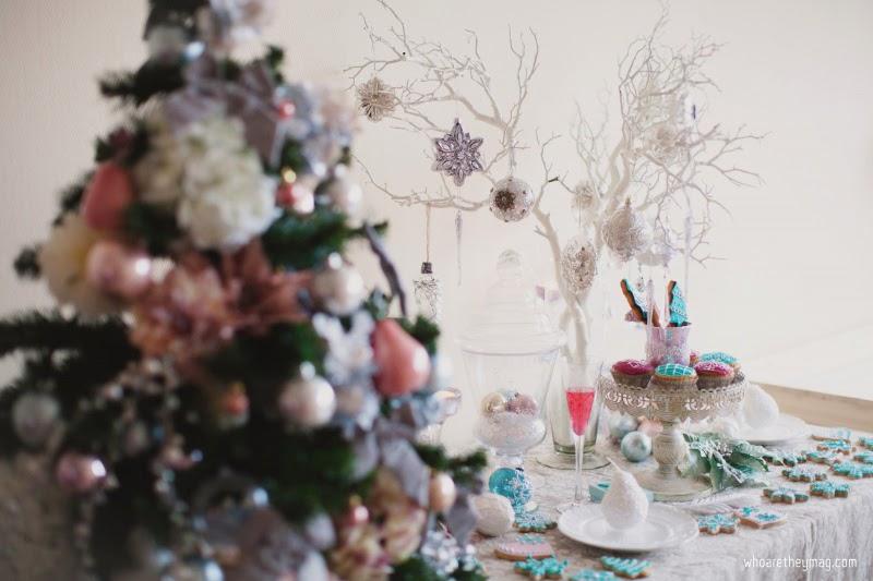 Елка и новогодний стол