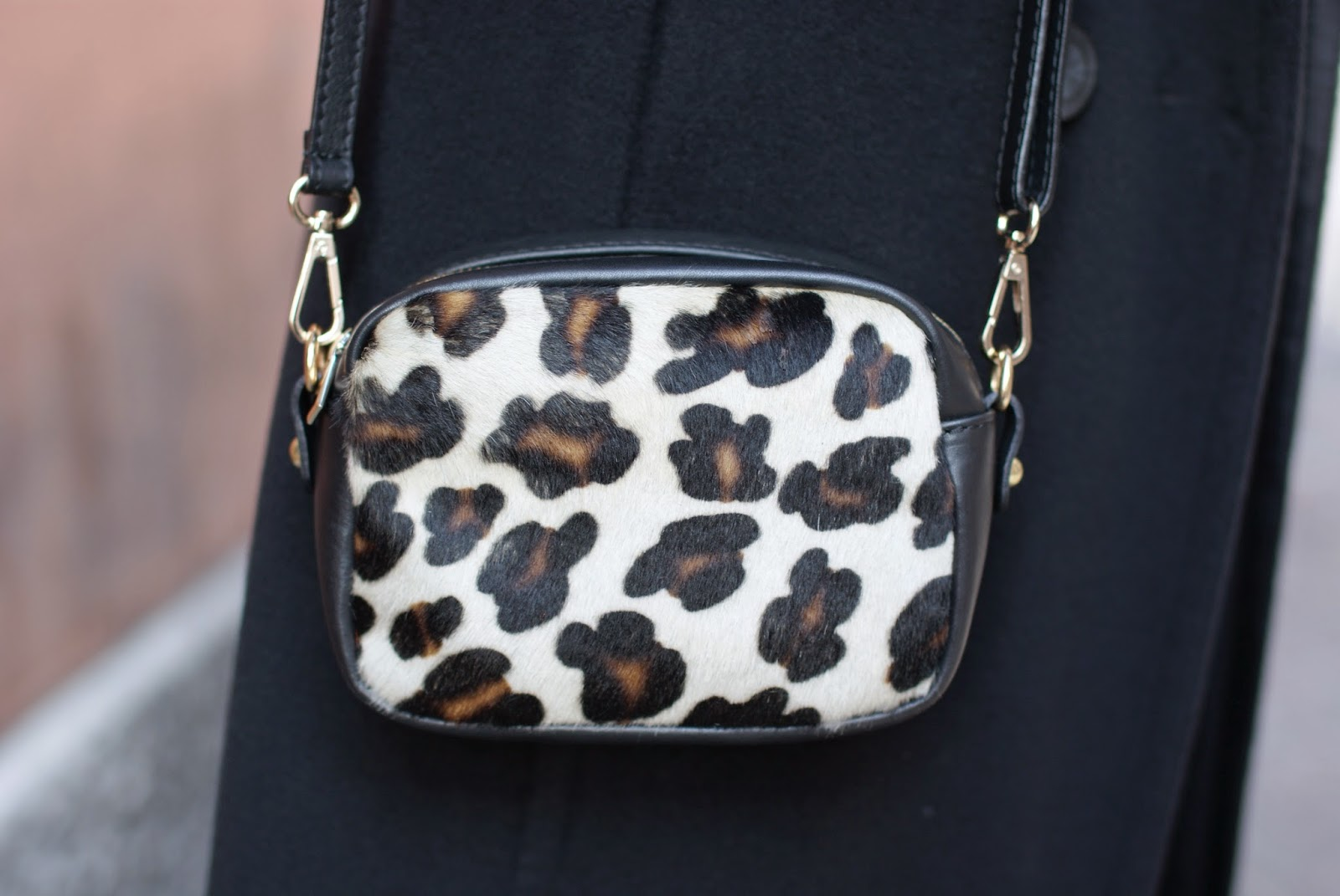 Sofia borse candy pochette, leopard pony hair mini bag, Fashion and Cookies, fashion blogger