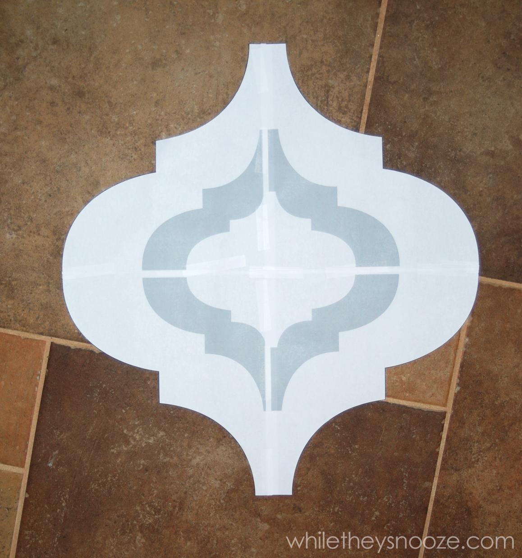 Diy Wall Stencil Template : Free moroccan stencils joy studio design gallery best