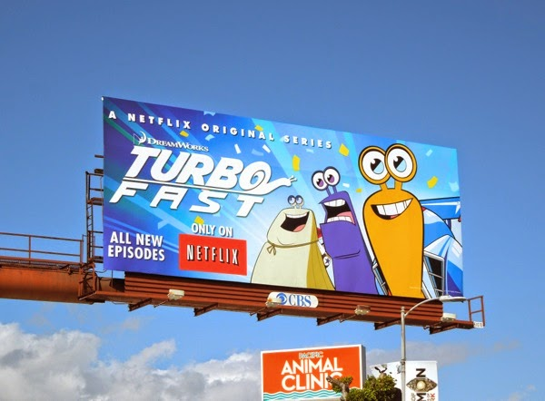 Turbo FAST season 1 billboard